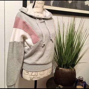 🌸🍁❄️NWOT Hippie Rose Fleece Hoodie Sweatshirt